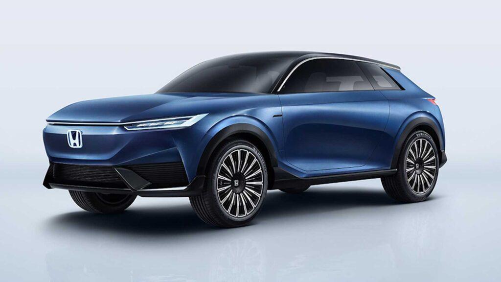 Honda pokazała koncept elektrycznego SUVa z asystą sterowania