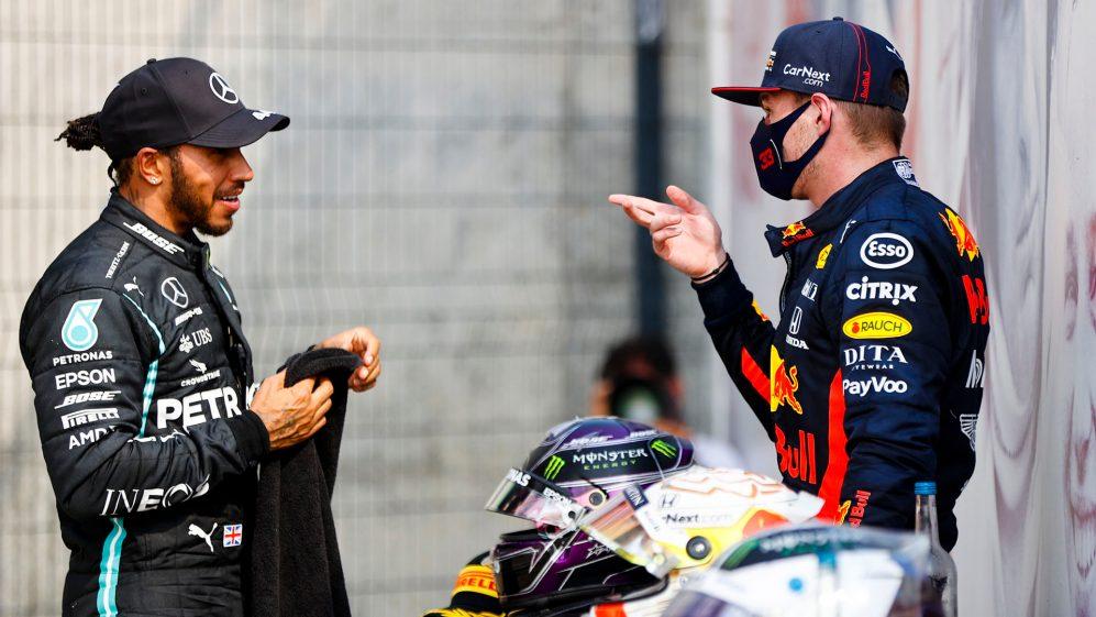 Lewis Hamilton o samotności Verstappena na czele stawki