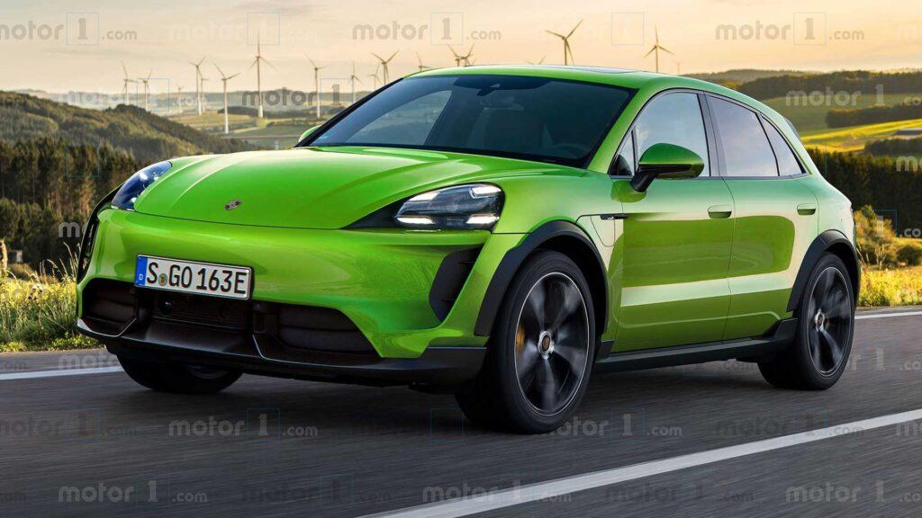 Porsche Macan Electric, czyli idziemy duchem za modelem Taycan