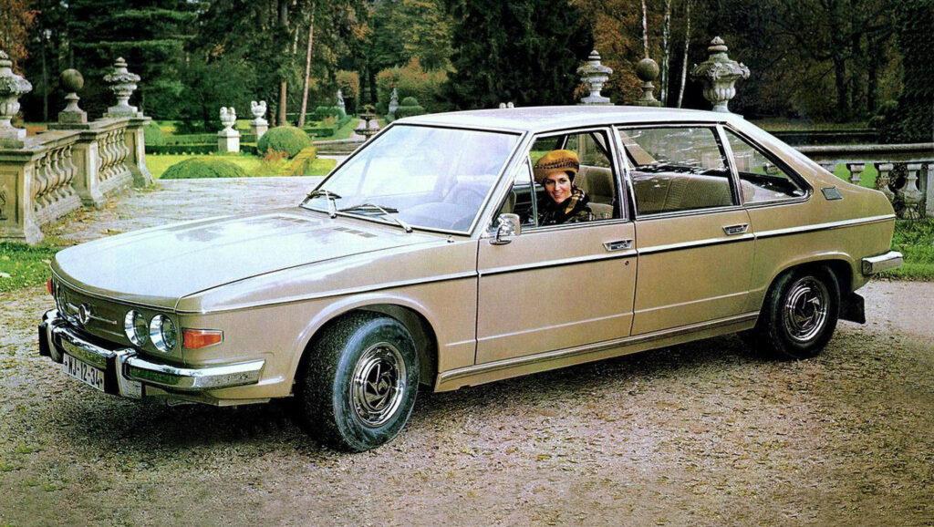Tatra 613 – Duet włoskiego wzornictwa z czeską filozofią luksusu