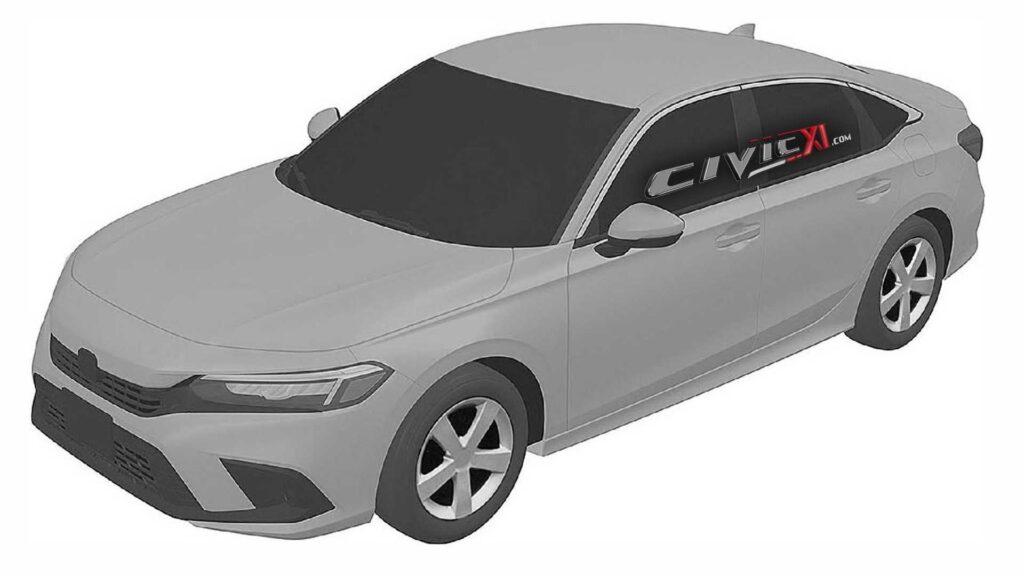 Honda Civic Sedan XI 2022 – oto jak będzie wyglądać nowa generacja