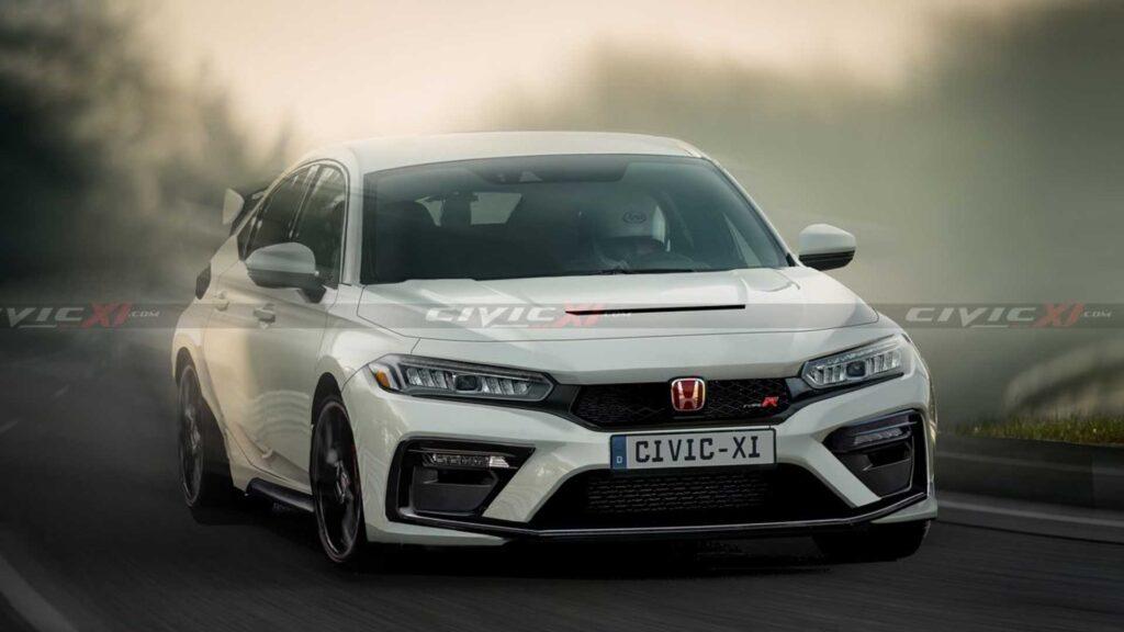 Honda Civic Type-R nowej generacji szokuje swoim wyglądem