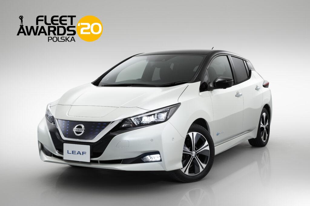 Nissan LEAF po raz trzeci najlepszym elektrycznym samochodem flotowym według Fleet Awards Polska