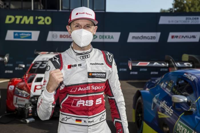 Rene Rast z Pole Position do pierwszego wyścigu na torze Zolder