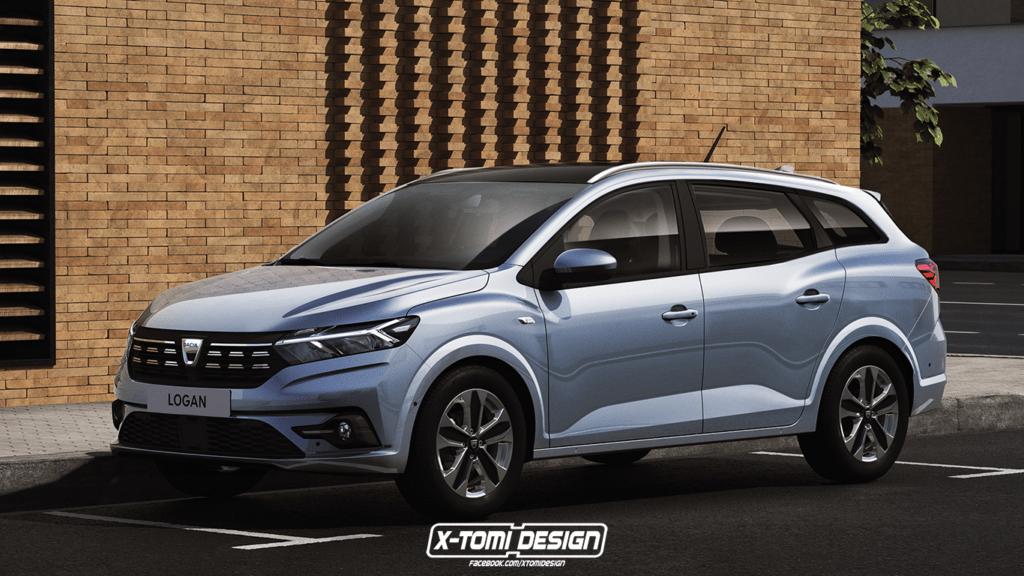 Nowa Dacia Logan w wersji MCV wygląda wyjątkowo agresywnie