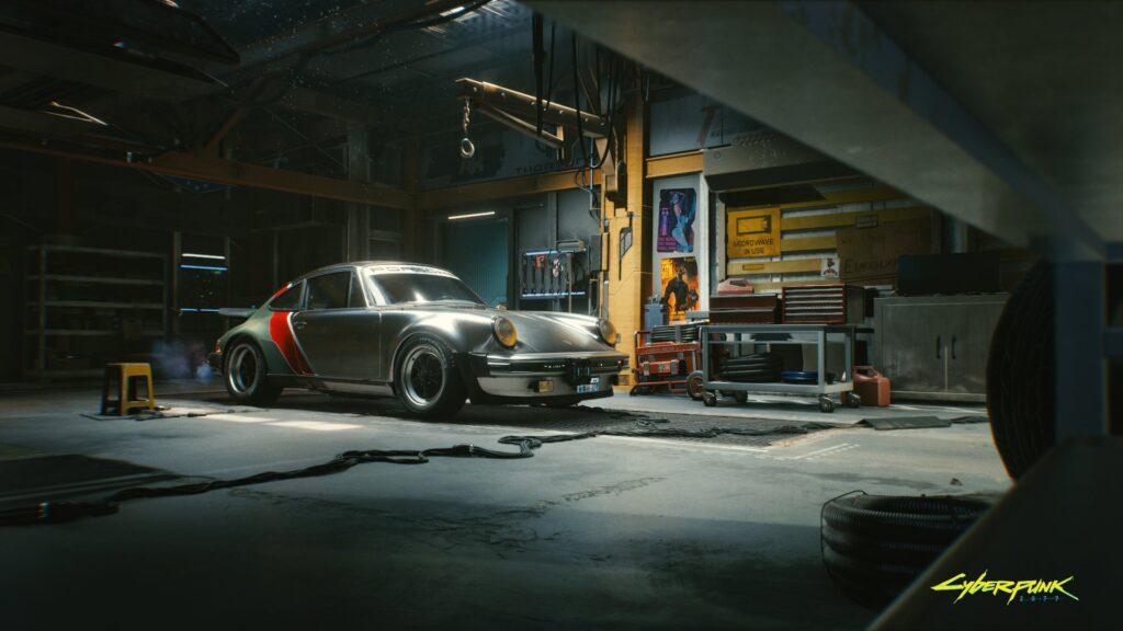 Porsche 911 Turbo 930 oficjalnie w grze Cyberpunk 2077!