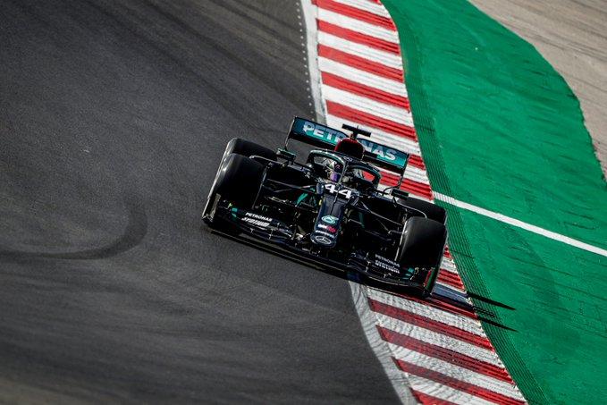 Dominacja totalna. Hamilton z Pole Position przed GP Portugalii