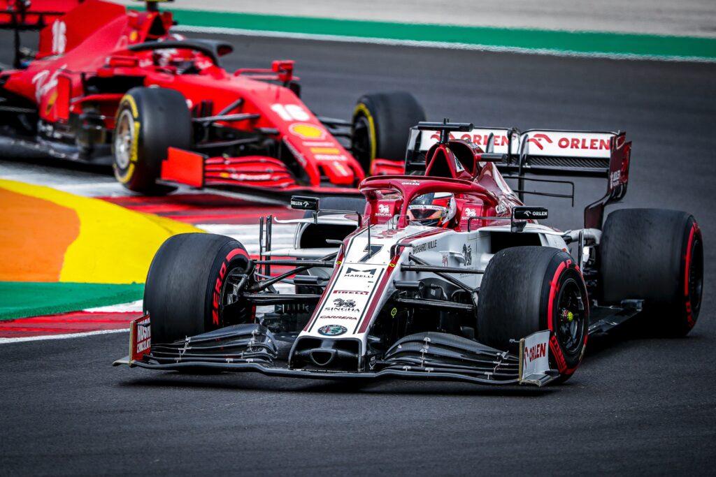 Kimi Raikkonen o swoim fenomenalnym starcie na początku GP Portugalii