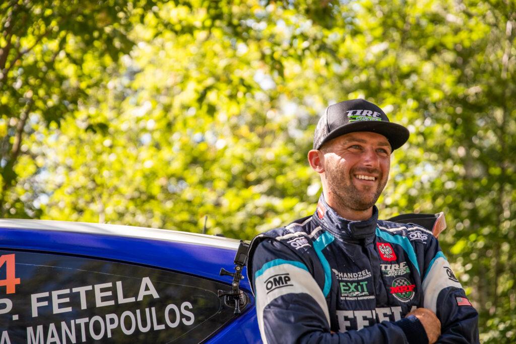Piotr Fetela wsiada do Forda Fiesty R5 w New York Forest Rally 2020!