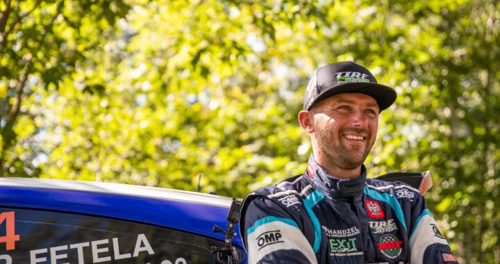 Piotr Fetela wsiada do Forda Fiesty R5 w New York Forest Rally 2020!