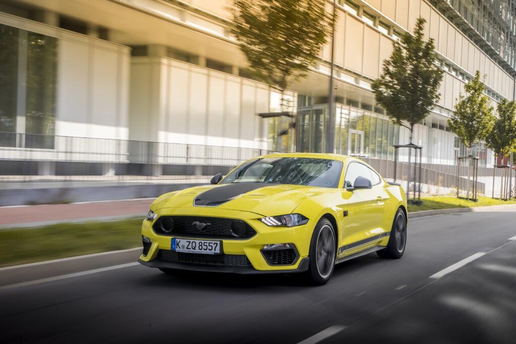Ford Mustang 2023 (S650) powstanie na specjalnie stworzonej platformie