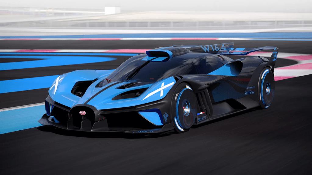 Bolide nową perłą w koronie torowego arsenału Bugatti