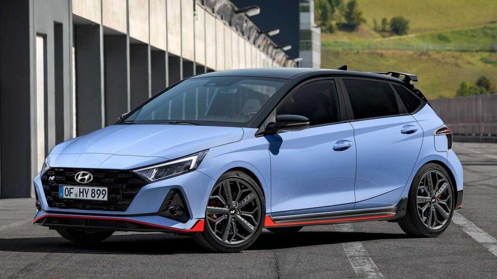 Hyundai i20N 2021 zaprezentowany – dane techniczne, wymiary, silniki