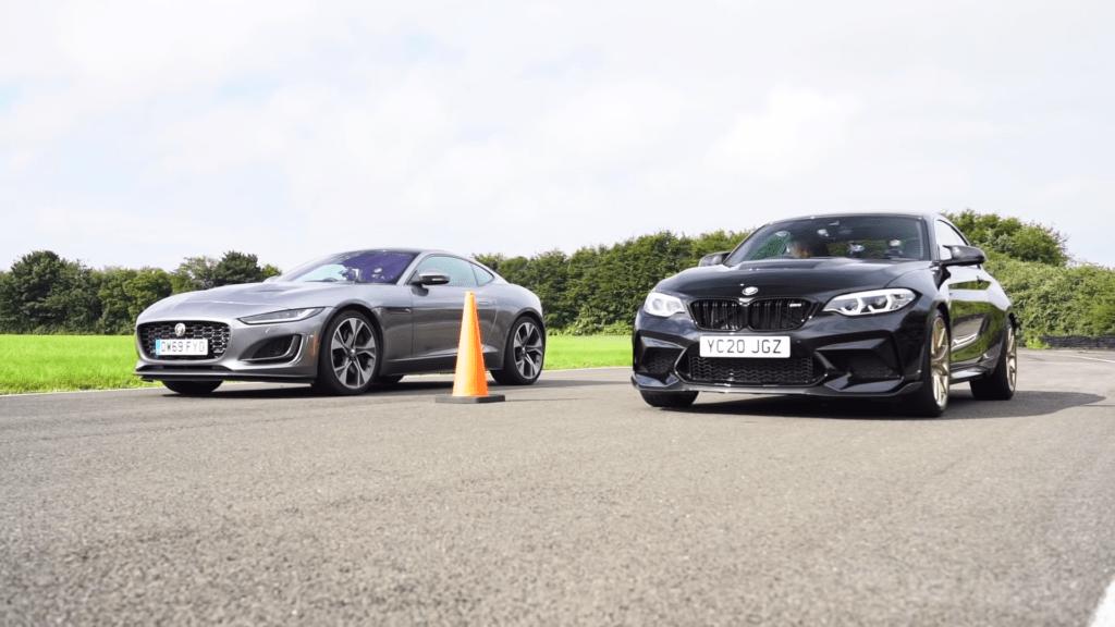Jaguar F-Type konta BMW M2 CS – na papierze niemal identyczne, a w rzeczywistości?