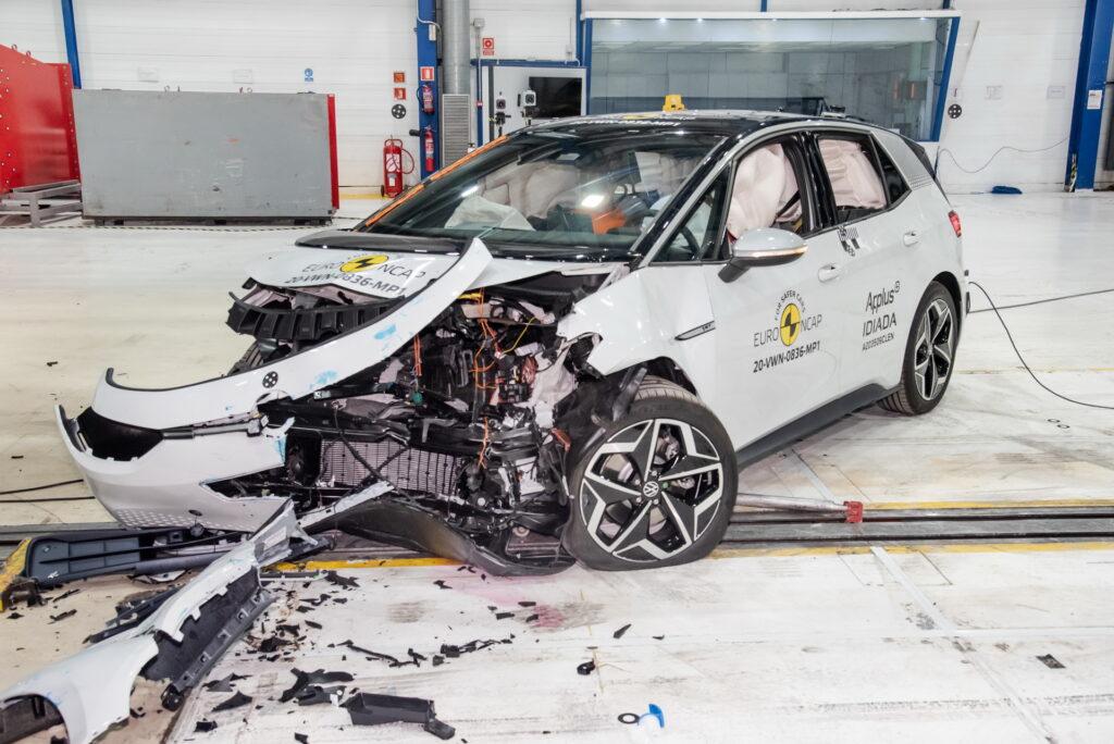 Volkswagen ID.3 otrzymał 5 gwiazdek w teście bezpieczeństwa NCAP