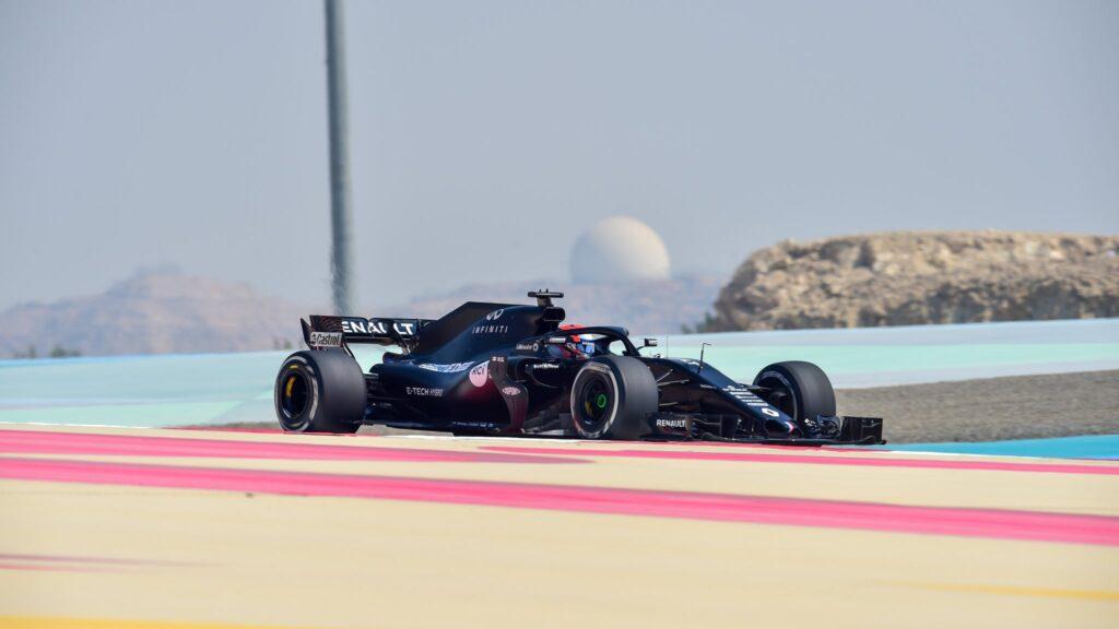 Testy kierowców akademii Renault na torze Sakhir