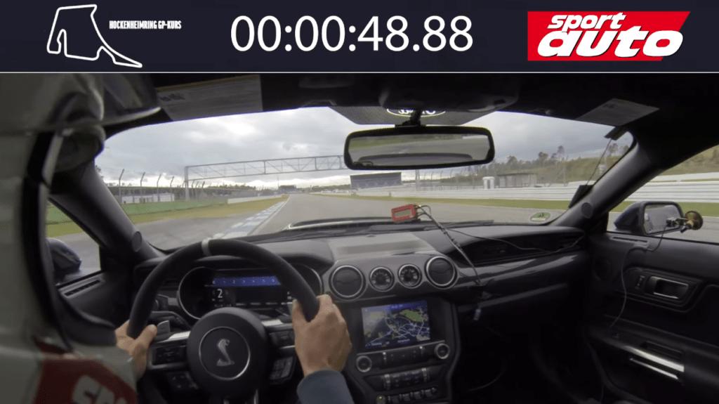 Shelby GT500 okrąża tor Hockenheim tak szybko jak Cayman GT4