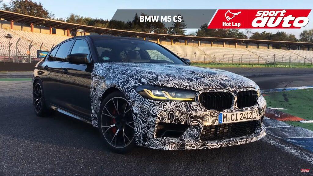 BMW M5 CS: Znamy najbardziej prawdopodobne osiągi silnika!