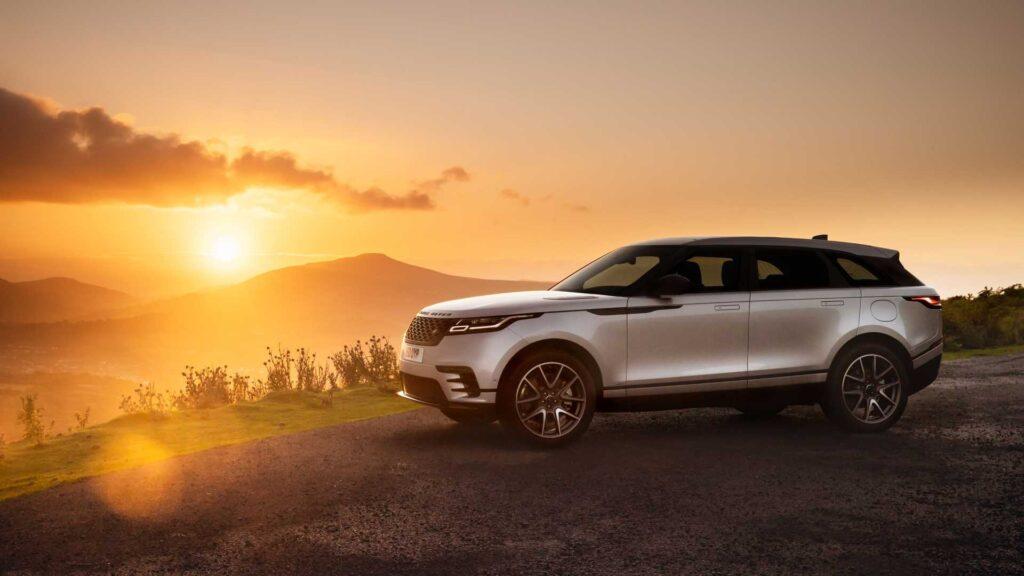 Range Rover Velar z nieznacznymi zmianami na rocznik 2021