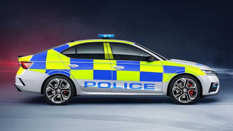 Nowa Škoda Octavia RS we flocie brytyjskiej policji