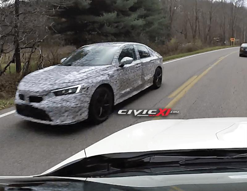 Honda Civic 2021 – powstały zdjęcia szpiegowskie prototypów!