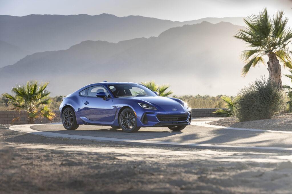 Subaru BRZ 2022 – świeża twarz sportowego coupe