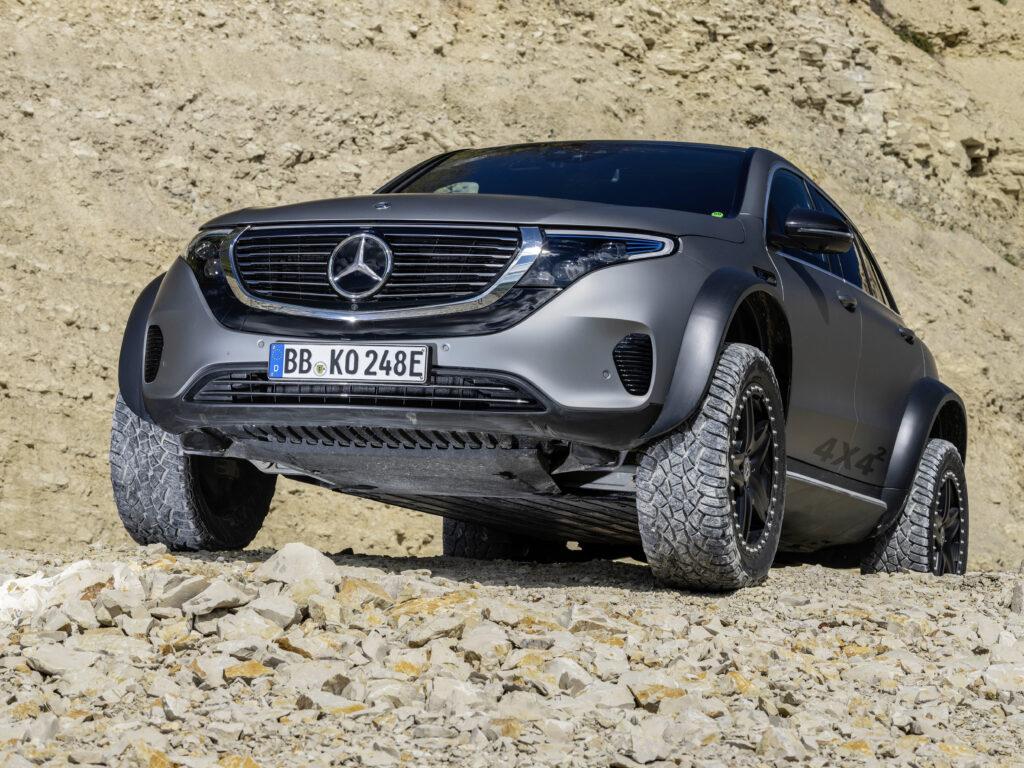 Mercedes zastrzega nazwy EQE43, 53, 63 dla nowego elektrycznego AMG