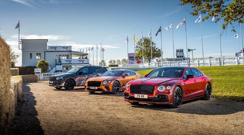 Bentley przejdzie całkowicie na silniki elektryczne od 2030 roku