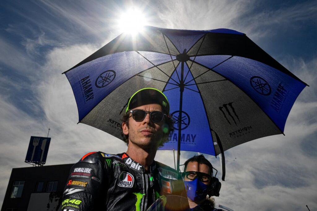 Valentino Rossi i zamieszanie z wynikami testów na COVID-19