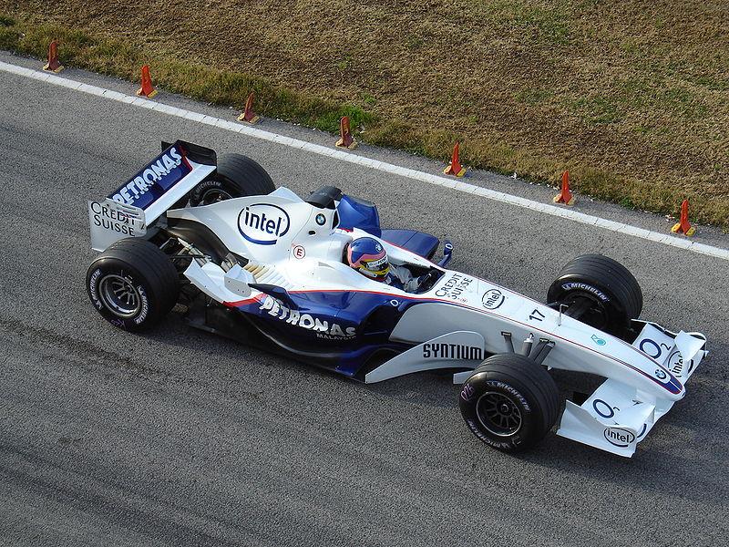 Jacques Villeneuve BMW Sauber 2006