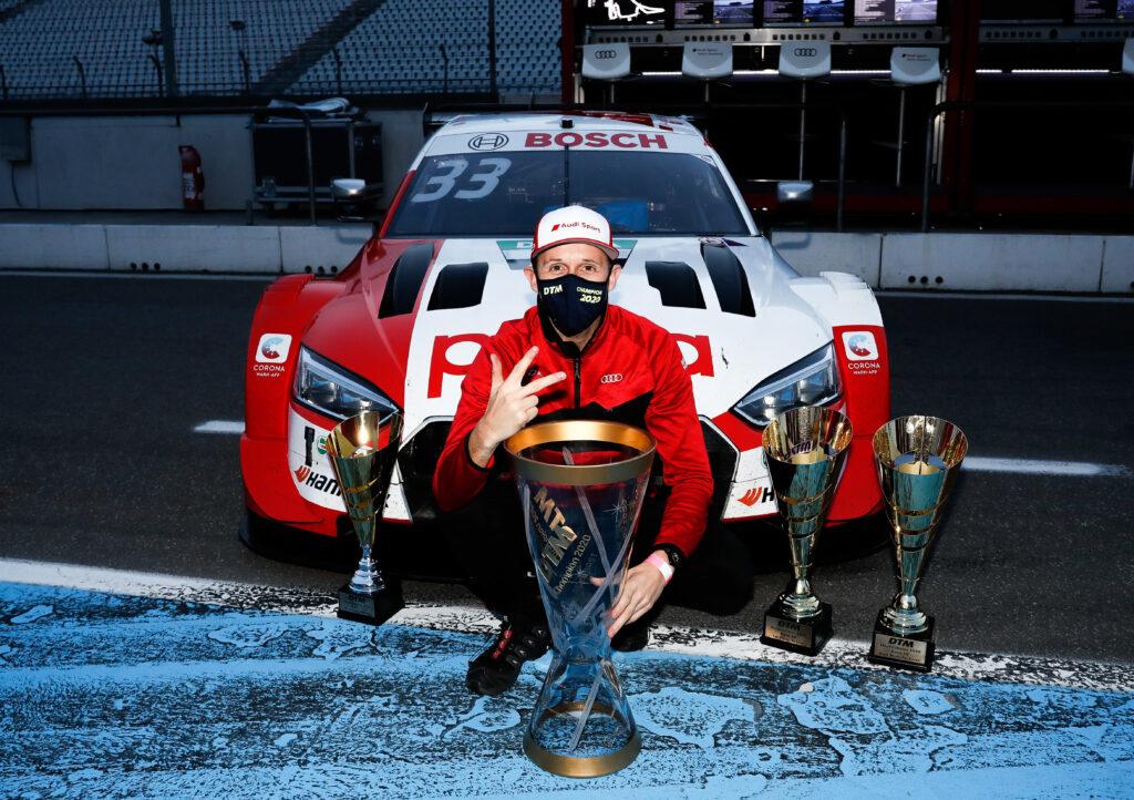 Rene Rast po raz trzeci mistrzem – gigant o swoim osiągnięciu w DTM