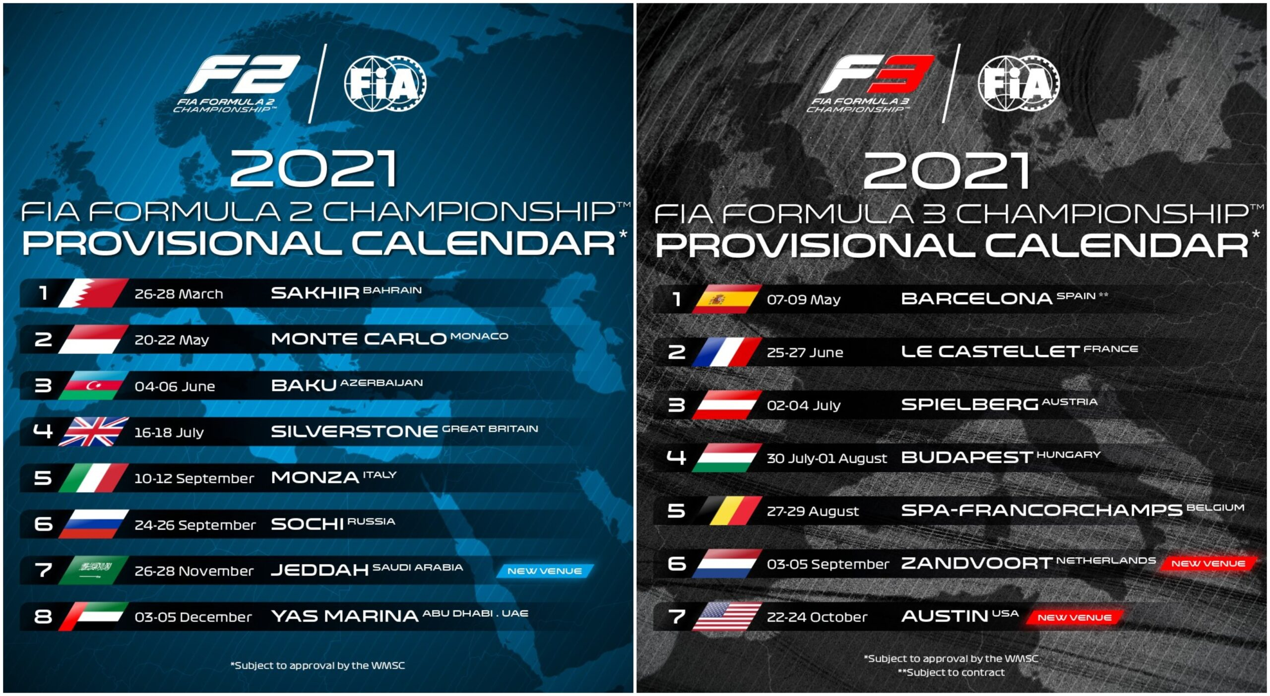 Kalendarz F2 F3