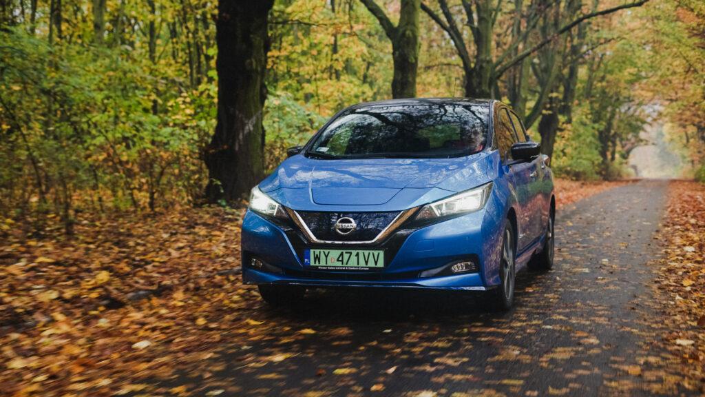 #TEST – Nissan Leaf e+ 217 KM 62 kWh – Przyszłość jest teraz