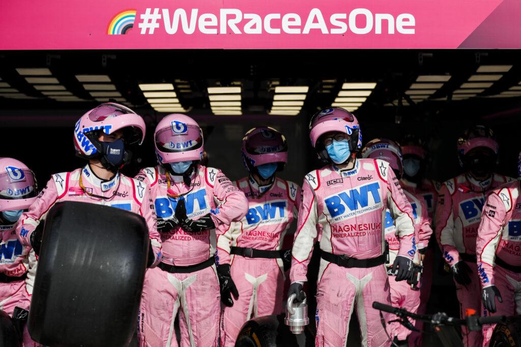 Mechanik Racing Point jest w dobrym stanie po incydencie Lance'a Strolla