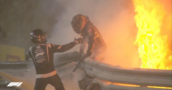 Grosjean oszukał los. Formuła 1 zdała egzamin z bezpieczeństwa
