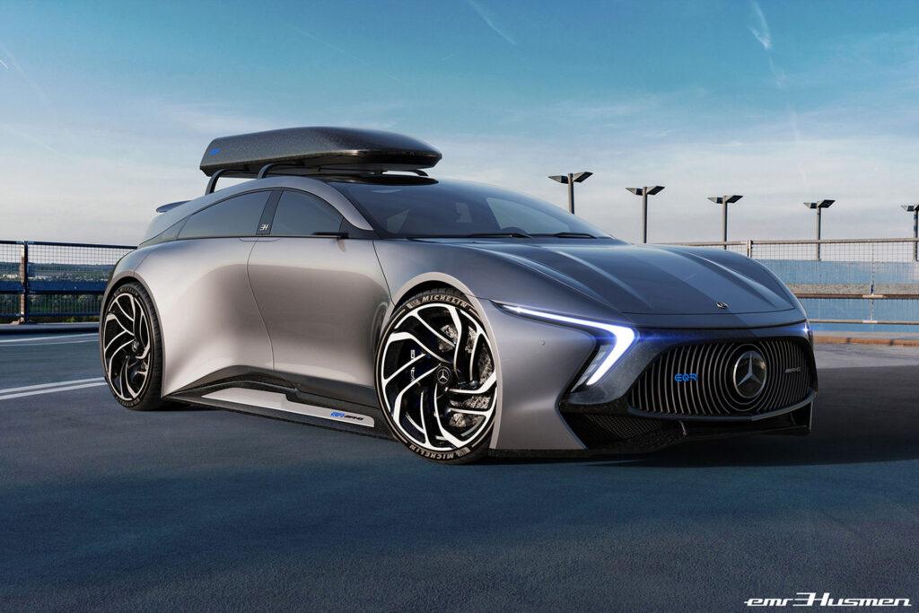 Mercedes EQR AMG byłby świetnym kombi na miarę nowych czasów