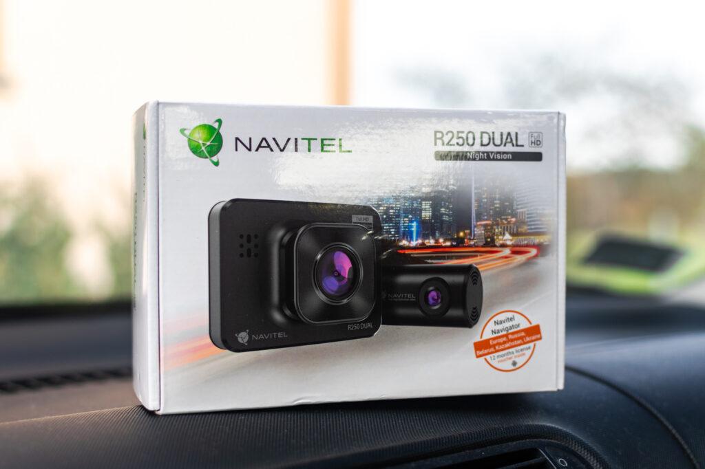 Navitel R250 Dual – dobry wideorejestrator do miasta za 250 zł