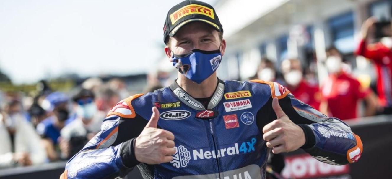 Valentino Rossi Garrett Gerloff