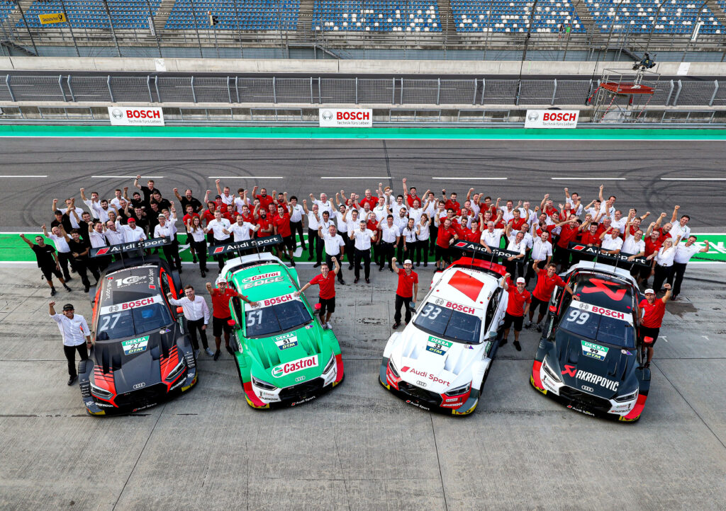 Audi oficjalnie żegna RS 5 DTM i podsumowuje pobite przez niego rekordy