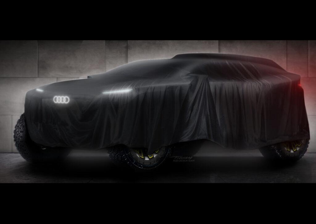 """Audi weźmie udział w Rajdzie Dakar 2022 autem """"prawie"""" elektrycznym"""