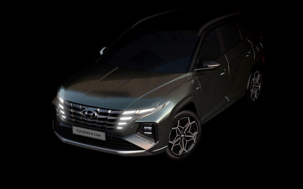 Hyundai Tucson 2022 N Line –  mamy oficjalną zapowiedź producenta