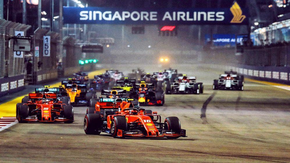kalendarz F1 2021