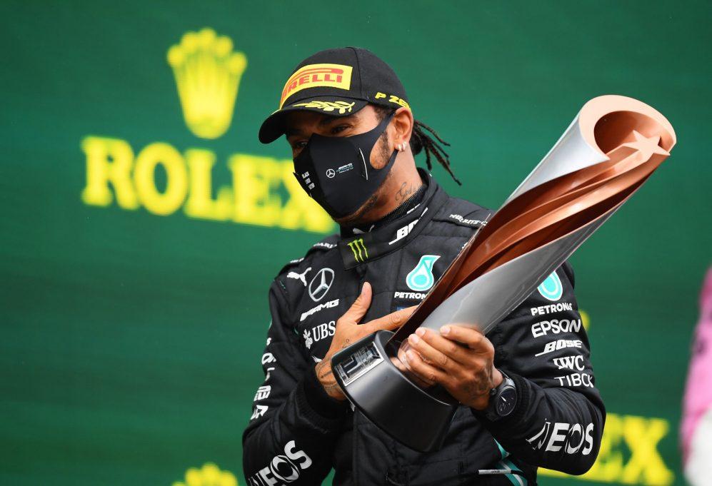 GP Arabii Saudyjskiej Lewis Hamilton