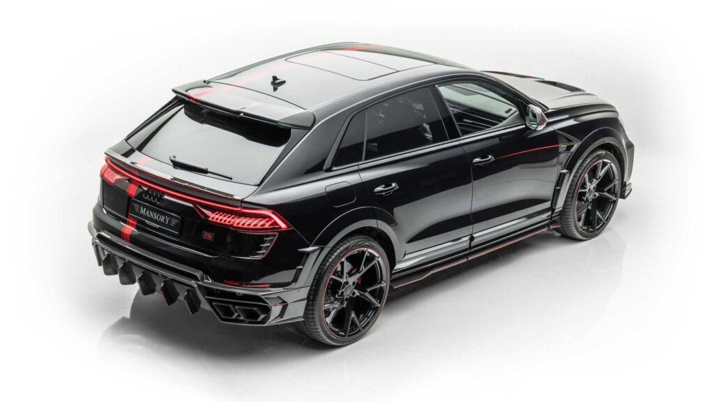 Audi RSQ8 po tuningu Mansory szokuje i intryguje – jak zwykle