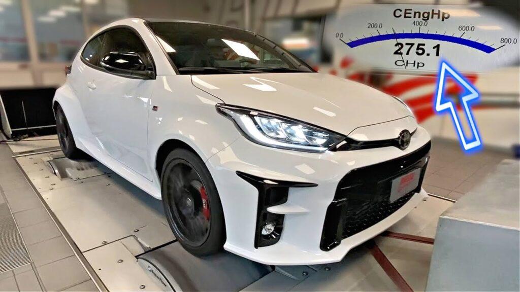 Toyota GR Yaris – czy mały hot hatch trzyma fabryczną moc na hamowni?