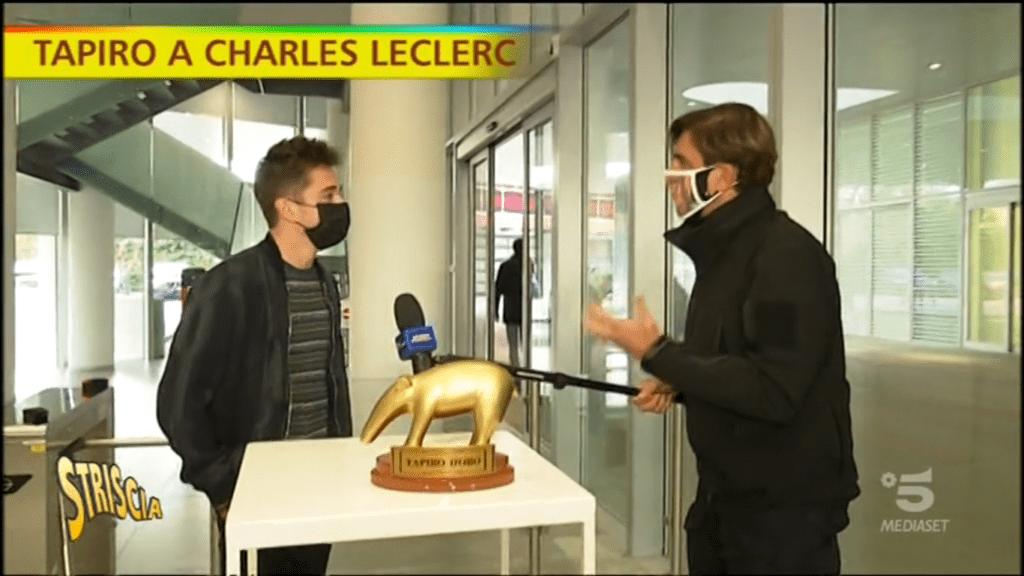 """Charles Leclerc upokorzony przez włoskie media ,,Złotym Tapirem"""""""