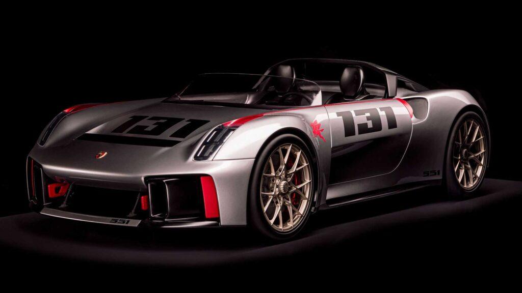 Porsche pokazuje nowoczesną interpretację modelu 550 Spyder