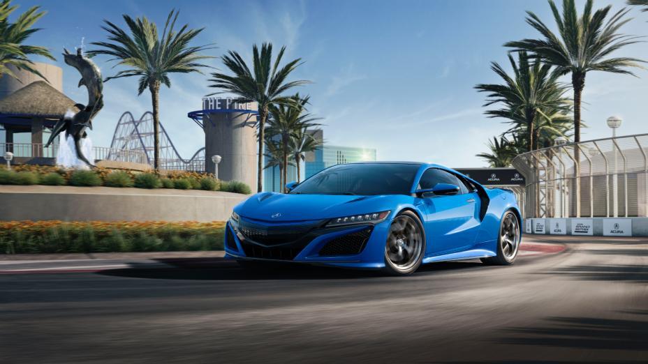Honda NSX wróci w przyszłym roku do koloru Long Beach Blue Pearl