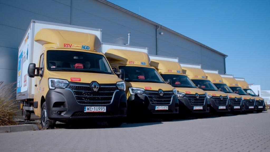 20 nowych Renault Master dołącza do floty sklepu RTV Euro AGD