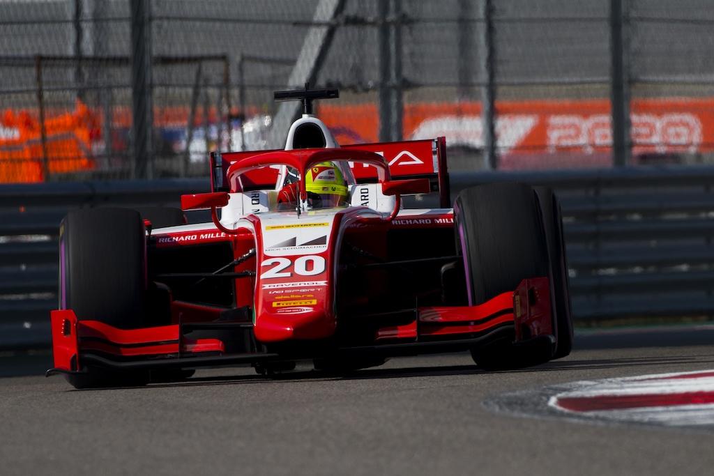 Mick Schumacher Tytuł F2